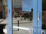 Front Door - engineering building @ Brickyard on Mill