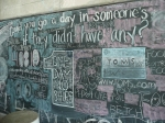 Chalkboard outside the door of the Computing Commons @ ASU.  Just need some Mizmo chalk magic here to make some Fedora goodness!