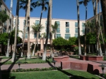 Center courtyard of Tempe Mission Palms.